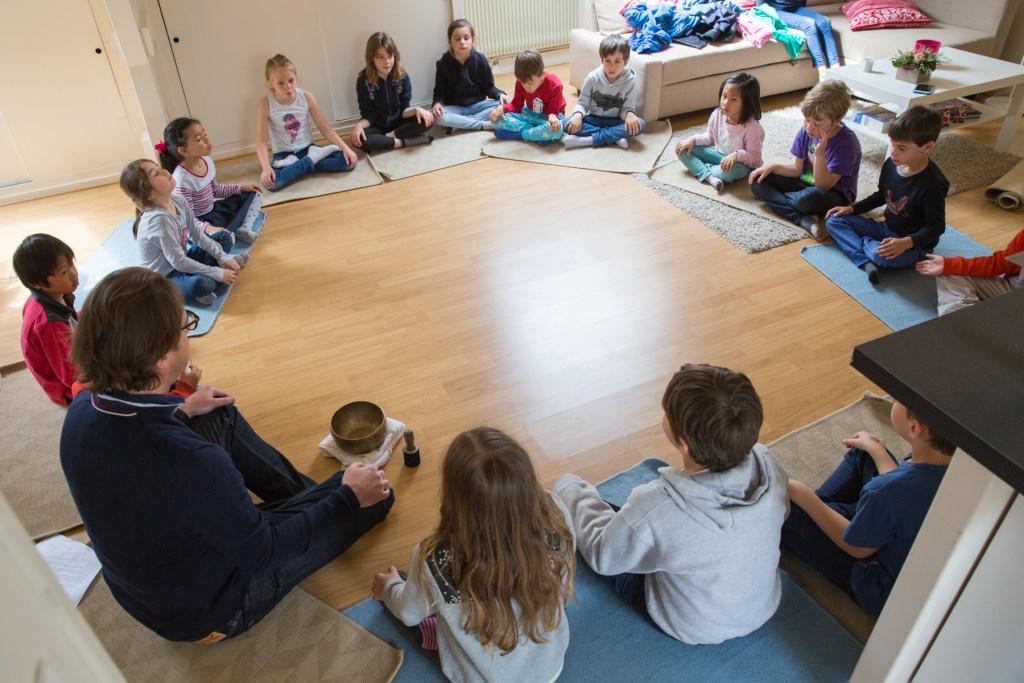 les seances de meditation et discussions philosophiques
